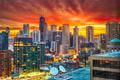 Chicago, Illinois, USA Dawn Skyline - PhotoDune Item for Sale