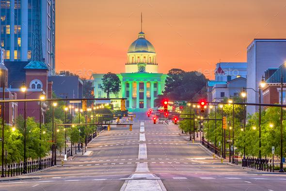 Montgomery, Alabama, USA - Stock Photo - Images