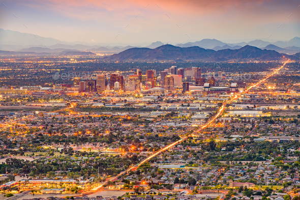 Phoenix, Arizona, USA - Stock Photo - Images