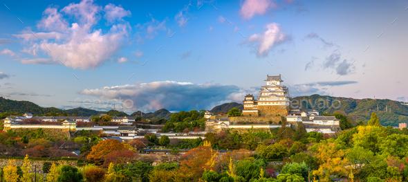 Himeji Castle, Japan - Stock Photo - Images