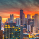Chicago, Illinois, USA Skyline at Dusk - PhotoDune Item for Sale