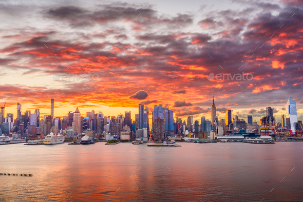 New York City Cityscape - Stock Photo - Images