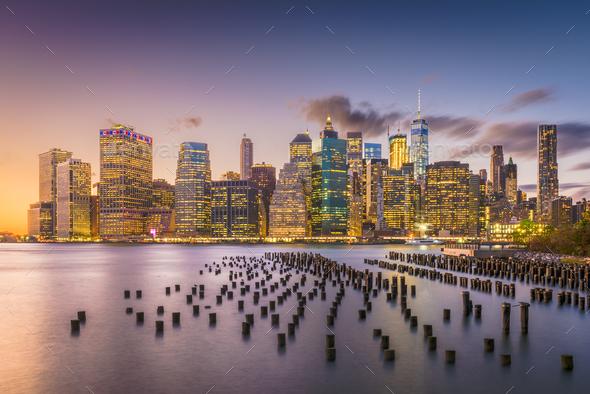 New York City Cityscape - Stock Photo - Images