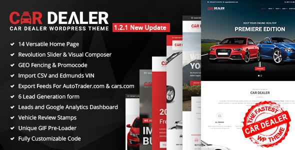 Car Dealer - The Best Car Dealer Automotive Responsive WordPress Theme - Business Corporate