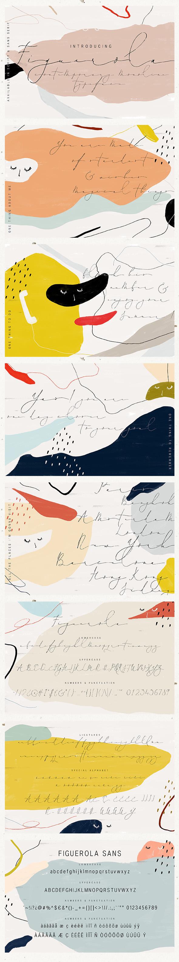 Figuerola - Calligraphy Script