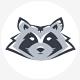 Raccoon Head Logo