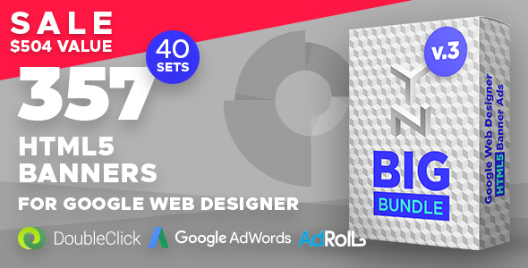 YN Big Bundle - 357 Animated HTML5 Banners for Google Web Designer - CodeCanyon Item for Sale