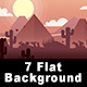 Game Background Flat Theme - GraphicRiver Item for Sale