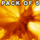 Fire Rays Sphere - VideoHive Item for Sale
