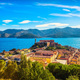 Elba island, Portoferraio aerial view from fort. Lighthouse and - PhotoDune Item for Sale