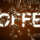 Roasted Coffee Beans Falling and Covering Word Coffee - VideoHive Item for Sale