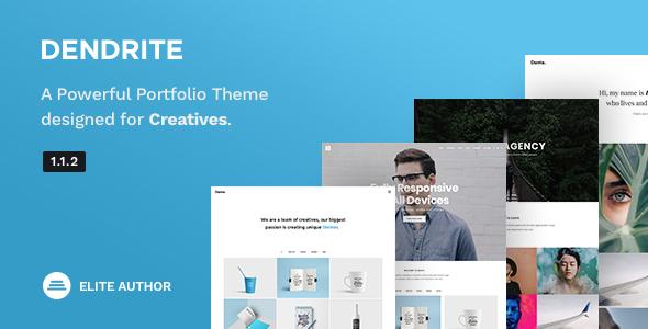 Dendrite - Creative Portfolio Theme - Portfolio Creative