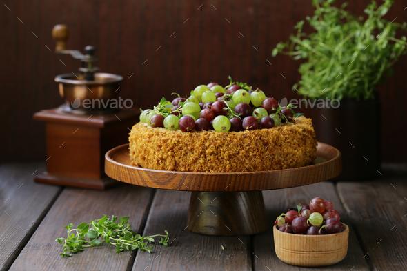 Homemade Pie for Dessert  - Stock Photo - Images