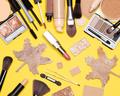Autumn makeup flatlay - PhotoDune Item for Sale