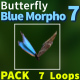 Butterfly Blue Morpho 7 - VideoHive Item for Sale
