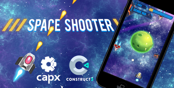 Space Shooter HTML5 Game C2 & C3            Nulled