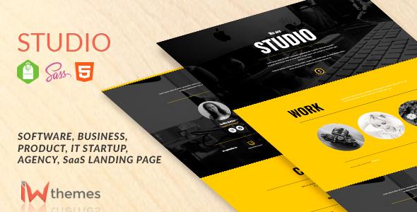 Studio - Portfolio, Creative, Corporate, Business Landing Page - Portfolio Creative