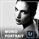 Mono Portrait Lightroom Presets - GraphicRiver Item for Sale