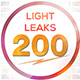 200 Light Leaks - VideoHive Item for Sale