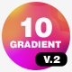 10 Gradient Background Vol.2 - VideoHive Item for Sale