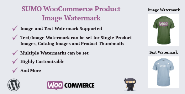 SUMO WooCommerce Product Image Watermark - CodeCanyon Item for Sale