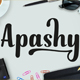 Apashy Typeface - GraphicRiver Item for Sale