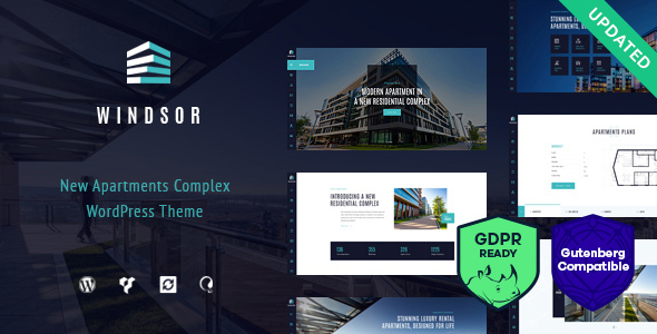 Image of Windsor - Apartment Complex / Single Property WordPress Theme