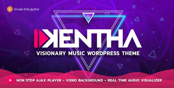 Kentha — Visionary Music WordPress Theme by QantumThemes | ThemeForest