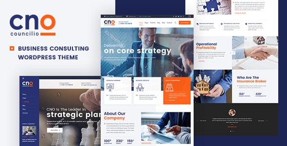 Image of Councilio - Business and Financial Consulting WordPress Theme