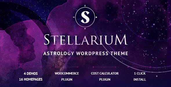 Stellarium – Horoscope and Astrology WordPress Theme