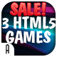 Race Games Bundle - 3 HTML5 Games (CAPX + HTML5) & 30% OFF - CodeCanyon Item for Sale