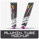 Aluminium Tube Mock-Up - GraphicRiver Item for Sale