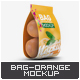 Bag with Oranges Mock-Up - GraphicRiver Item for Sale