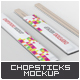 Chopsticks Mock-Up - GraphicRiver Item for Sale