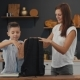 Mother and Son Prepare a Backpack for the First School Day - VideoHive Item for Sale