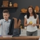 Mother Prepares Lunch for Her Son at School - VideoHive Item for Sale