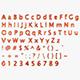 3D Low Poly Letters