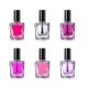 Nail Polish Bottles on White Background Vector - GraphicRiver Item for Sale