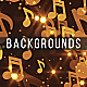 Gold Music Backgrounds - VideoHive Item for Sale