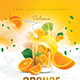 Orange Cocktail Drink - GraphicRiver Item for Sale