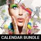 Creative Wall Calendars 2019 Bundle 6 - GraphicRiver Item for Sale