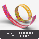 Event Wristbands Mock-Up - GraphicRiver Item for Sale