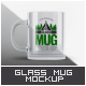 Glass Mug Mock-Up - GraphicRiver Item for Sale