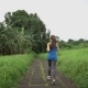 Woman Jogging Outdoors - VideoHive Item for Sale