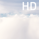 Flying Through White Clouds in Blue Sky - VideoHive Item for Sale