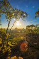 Sunset seen from Mt Tibrogargan, Glass House Mountains, Sunshine - PhotoDune Item for Sale