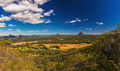 View from the summit of Mt Coochin, Glass House Mountains, Sunsh - PhotoDune Item for Sale