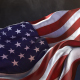American Flag in the Wind Side Perspective - VideoHive Item for Sale