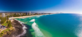 Aerial view of Burleigh Heads - a famous surfing beach suburb on - PhotoDune Item for Sale