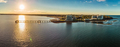 Woody Point Jetty is famous landmark on the Moreton Bay on Redcl - PhotoDune Item for Sale